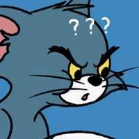 汤姆猫爱人头一左一右 幽默的杰瑞汤姆爱人头像一对两张