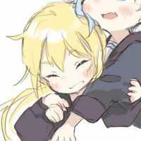 男生抱女生可人动漫情头CP头像