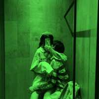 绿色系列恋人头像