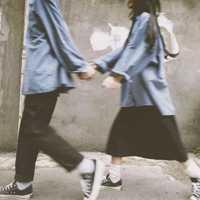 甜美浪漫情头头像 最浪漫的男女一对两张头像
