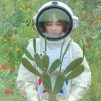 一男一女宇航员情头头像